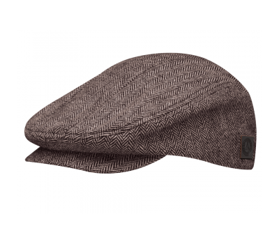Кепка Mercedes Flat Cap, Brown / Beige