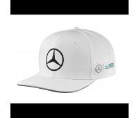 Бейсболка Mercedes F1 Cap Valtteri Bottas, Flat Brim