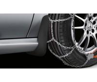 Брызговики задние черные для Mercedes W176