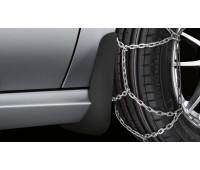 Брызговики задние черные для Mercedes W246