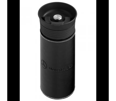 Термокружка Mercedes Thermo Mug, Glass / Leather