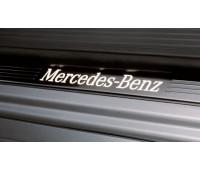Панель порога двери, с подсветкой, набор из 2 для Mercedes W166