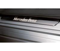 Панель порога двери, с подсветкой для Mercedes X166