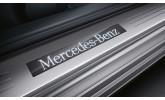 Молдинги порогов Mercedes W246 рестайл (2014-...)