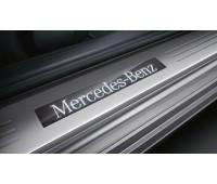 Панель порога двери, с подсветкой, набор из 2 для Mercedes C204