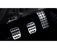 Спортивные педали из нержавеющей стали, неавтоматические модели для Mercedes X204