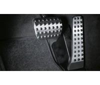 Спортивные педали из нержавеющей стали, автоматические модели для Mercedes C204, S204, W204, C218, X218, A207, C207, S212, W212