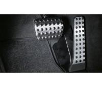 Спортивные педали из нержавеющей стали, автоматические модели для Mercedes W176, W246, C117, X117, X156