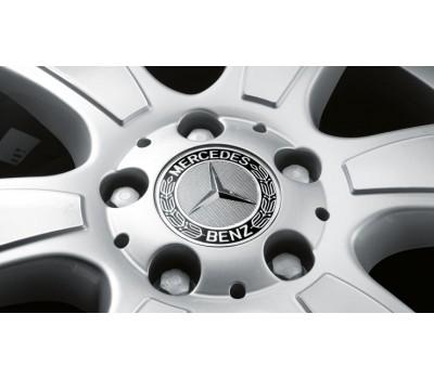 Крышка ступицы колеса, Звезда, Classic Roadster дизайн, черный для Mercedes