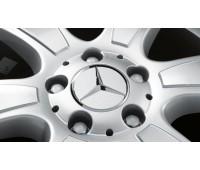 Крышка ступицы колеса, Звезда, матово-серый для Mercedes
