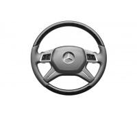 Кожаное рулевое колесо серый для Mercedes W166