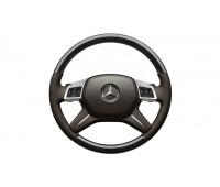 Кожаное рулевое колесо коричневый для Mercedes W166