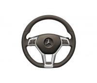 Кожаное рулевое колесо SPORT коричневый для Mercedes A207, C207