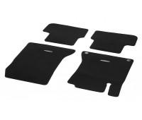 Велюровые коврики CLASSIC, комплект, 4 шт. черные для Mercedes W176, W246, C117, X117, X156