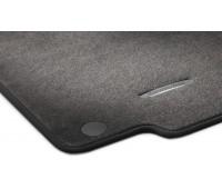 Велюровые коврики CLASSIC, комплект, 4 шт. серые для Mercedes X166, X166