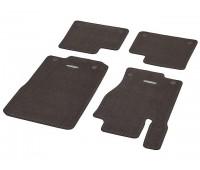 Велюровые коврики CLASSIC, комплект, 4 шт. коричнивые для Mercedes W166, X166