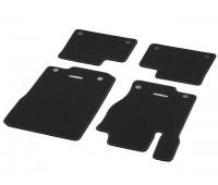 Велюровые коврики CLASSIC, комплект, 4 шт. Черные для Mercedes C292, W166