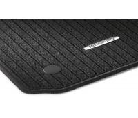 Репсовые коврики CLASSIC, комплект 2 шт. черные для Mercedes R172