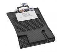 Всесезонные коврики CLASSIC, комплект, 2 шт. черные для Mercedes R172