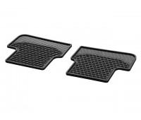 Всесезонные задние коврики CLASSIC черные для Mercedes W176, W246, C117, X117, X156