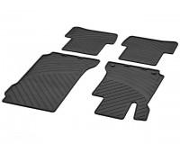 Всесезонные коврики CLASSIC, комплект, 4 шт. черные для Mercedes S204, W204