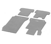 Велюровые коврики CLASSIC, комплект, 4 шт. серые для Mercedes S204, W204