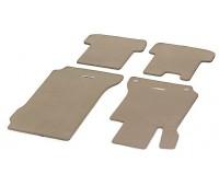 Велюровые коврики CLASSIC, комплект, 4 шт. бежевые для Mercedes S204, W204