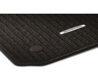 Репсовые коврики CLASSIC, комплект 4 шт. коричнивые для Mercedes X204