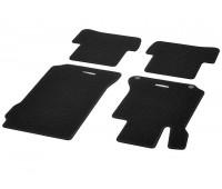 Репсовые коврики CLASSIC, комплект 4 шт. черные для Mercedes S204, W204