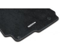 Велюровые коврики CLASSIC, комплект, 4 шт. Черные для Mercedes X204