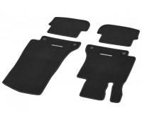 Велюровые коврики CLASSIC, комплект, 4 шт. черные для Mercedes A205