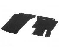 Репсовые передние коврики CLASSIC черные для Mercedes A205, C205, S205, W205