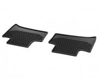 Всесезонные задние коврики CLASSIC черные для Mercedes S205, W205