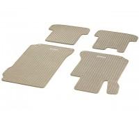 Репсовые коврики CLASSIC, комплект, 4 шт. бежевые для Mercedes C204, A207, C207