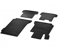 Велюровые коврики CLASSIC, комплект, 4 шт. бежевые для Mercedes C204, A207, C207