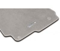 Велюровые коврики CLASSIC, комплект, 4 шт. серые для Mercedes C204, A207, C207