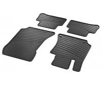 Всесезонные коврики CLASSIC, комплект, 4 шт. черные для Mercedes C218, X218, S212, W212