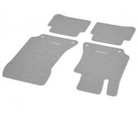 Репсовые коврики CLASSIC, комплект 4 шт. серые для Mercedes C218, X218, S212, W212
