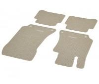 Репсовые коврики CLASSIC, комплект 4 шт. бежевые для Mercedes C218, X218, S212, W212