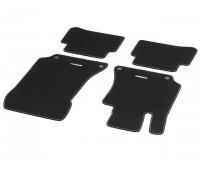 Велюровые коврики SPORT, комплект, 4 шт. черные для Mercedes S212, W212