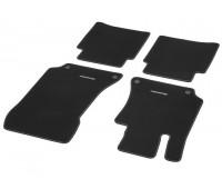 Велюровые коврики CLASSIC, комплект, 4 шт. черные для Mercedes C218, X218, S212, W212