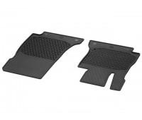 Всесезонные передние коврики CLASSIC черные для Mercedes S213, W213