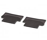 Всесезонные задние коврики CLASSIC коричнивые для Mercedes S213, W213