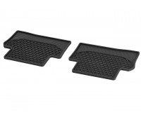 Всесезонные задние коврики CLASSIC черные для Mercedes S213, W213