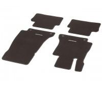 Велюровые коврики CLASSIC, комплект, 4 шт. коричнивые для Mercedes S213, W213