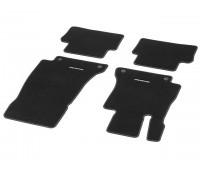 Велюровые коврики CLASSIC, комплект, 4 шт. черные для Mercedes S213, W213