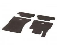 Велюровые коврики CLASSIC, комплект, 4 шт. коричнивые для Mercedes A217, C217