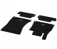 Велюровые коврики CLASSIC, комплект, 4 шт. Черные для Mercedes A217, C217