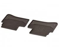 Всесезонные передние коврики CLASSIC коричнивые для Mercedes W222