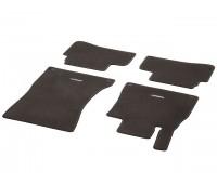 Велюровые коврики CLASSIC, комплект, 4 шт. коричнивые для Mercedes W222